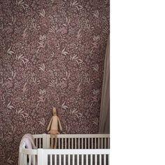 Nocturne lila tapet från Boråstapeter® (SD990-01) - Engelska Tapetmagasinet Nocturne, Aberdeen, Signs, Baby Girls, Babys, Kids Room, Thailand, Girly, Wallpapers
