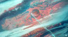 ArtStation - Desert Blues, Ross Tran