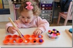 Image detail for -... , toaster tongs and pom poms. Voil... / Preschool items - Juxtapost