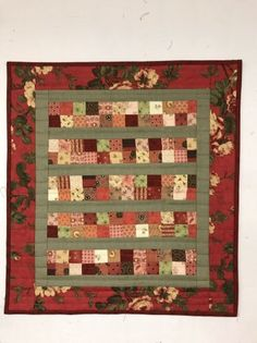 Sweet little quilt by Mary Ethrington