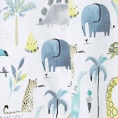 print & pattern Jungle Animals, Baby Animals, Kids Patterns, Print Patterns, Kids Prints, Kids Wear, Character Inspiration, Pattern Design, Cookie Ideas
