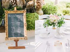 Large Framed Calligraphy Seating Chart   photography by: lindseyamiller.com