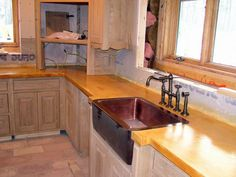 stained concrete countertops | Stained Concrete Counters