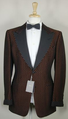 Tom Ford Orange Dinner Jacket