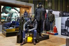Bread & Butter Berlin 2014 Winter – BARBOUR INTERNATIONAL by Shed » Retail Design Blog