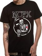 Officially licensed NOFX t-shirt design printed on a 100% cotton short sleeved T-shirt.