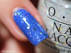 Picture Polish Forget Me Not, OPI Snow Globetrotter