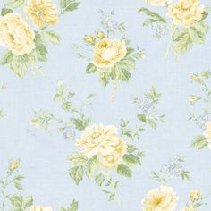 Galerie Wallcoverings Floral L x W Wallpaper Roll Color: Green/Yellow
