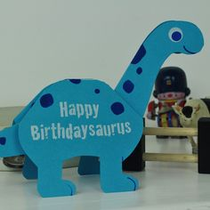 Dinosaur Birthday Card Filo Handmade Cards Gifts Cakes