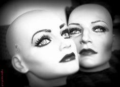 #MannequinHeads #Art #VintageMannequins