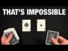 Impress Everyone With The Simplest Card Trick - YouTube #streetmagician  #everyone #impress #simplest #streetmagician #trick #youtube Magic Tricks Videos, Street Magic Tricks, Magic Card Tricks, Cool Magic Tricks, Easy Card Tricks, Number Tricks, Mind Reading Tricks, Magic Illusions, Types Of Magic