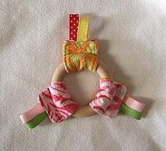 DIY Handmade Baby Toys : DIY Quick Ribbon Ring Teether Toy