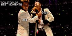 Quand ton bias t'envoie un baiser par dessus la scène: