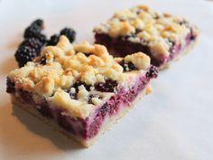Blackberry Pie Bars | Scratchy Mama