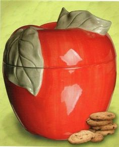 Apple cookie jar~I own this