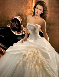 Free shipping hot sell Custom-Made handmade flower Wedding Dresses any size  colour  c69c6b89793d