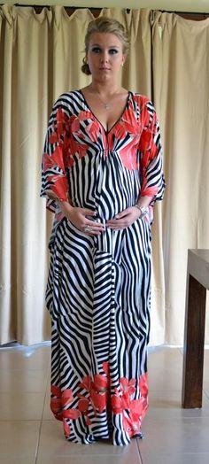 Zali Maternity Kaftan Dress