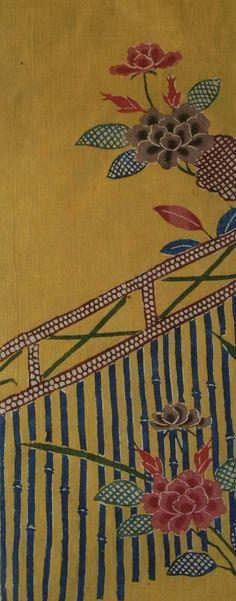 YELLOW SILK BINGATA ・ 木綿紅型
