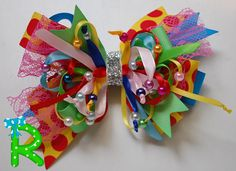 5 inches hair bows for little girls  party bow  pigtail bows
