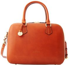 Structured satchel in one of our favorite colors of the season.
