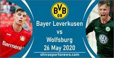Bayer Leverkusen vs Wolfsburg Preview, Live Stream Channel 26 May » Shiva Sports News Fox Sports 1, Sports App, Sports News, Soccer Match, Soccer Fans, Living In Brazil, Portuguese Language, Vs, Head Injury