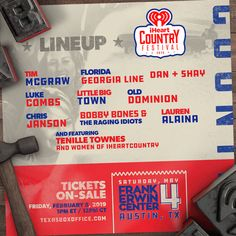 Iheartcountry Festival 2020.56 Best 2019 Usa Festivals Lineups Images In 2019 Lineup