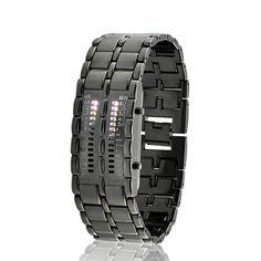 Elite Clock - Army Style LED Watch with 28 White LED Lights