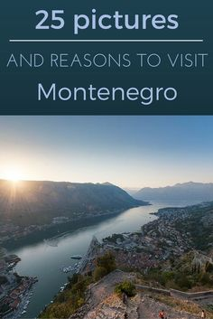 25 pictures and reasons to visit Montenegro - come and explore this small but stunning Mediterranean country! // Travel Inspiration, Guides & Tips Europe Travel Tips, European Travel, Travel Advice, Travel Guides, Places To Travel, Travel Destinations, Places To Visit, Montenegro Travel, Road Trip