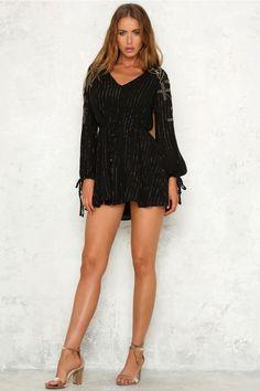 Sleep Talker Dress Black
