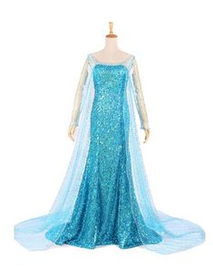 Queen Elsa Costume for Adults