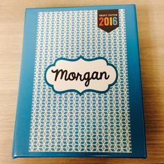 Morgan's 2016 Binder Planner_front cover