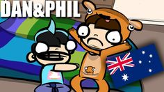 WILL DAN & PHIL SURVIVE AUSTRALIA??? | Phanimation