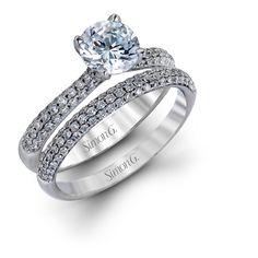 d6def69dc1225e Simon G Celestial Bridal Set - Barsky Diamonds Boho Engagement Ring,  Engagement Ring Settings,