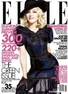 Madonna in ELLE cover May 2008
