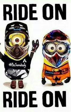 Image result for minion motorcycle