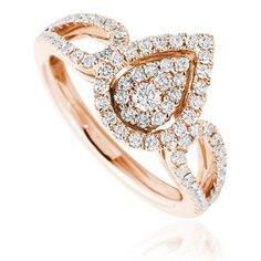 Deana fashion diamond ring Availability: In stock Truly avant-garde this fashion diamond ring feature 71 round hand picked ideal cut diamonds set in 14K Gold, total weight 0.63ctw   $1325.38