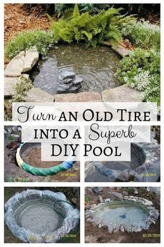 You may think old tires are useless and destined for the garbage dump. Since tires are made from non-biodegradable materials, recycling them is one way to help Mother Nature. Read this article from Homesthetics.net and you will be amazed at how garage junk can be transformed into a charming DIY pond. Instead of throwing them into landfills, turn old tires into …