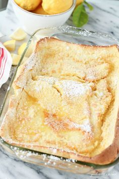 German Oven Pancakes - a family favorite, only 5 minutes to prep, so good!
