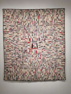 From Bold Expressions: african american quilts… Old Quilts, Strip Quilts, Antique Quilts, Scrappy Quilts, Vintage Quilts, Gees Bend Quilts, Crumb Quilt, African Quilts, Quilt Modernen