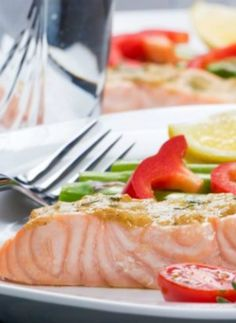 An Easy Quick Salmon Fillet For Those Days When You Want Something Fast!