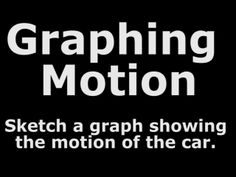 Graphing Motion #1