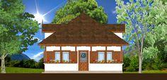 Daca iti place stilul neoromanesc, atunci trebuie sa vezi casele proiectate de arhitectul Adrian Paun! - Fabrika de Case Gazebo, Outdoor Structures, Romania, Home, Garage, Houses, Carport Garage, Kiosk, Pavilion