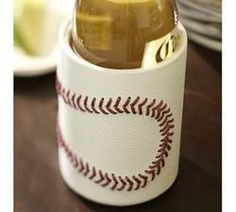Shop baseball bottle koozie from Pottery Barn. Our furniture, home decor and accessories collections feature baseball bottle koozie in quality materials and classic styles. Baseball Crafts, Baseball Mom, Baseball Stuff, Baseball Season, Espn Baseball, Baseball Gloves, Softball Stuff, Gifts For Brother, Gifts For Him