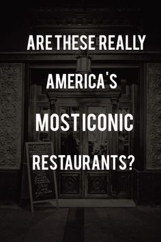 These are America's most iconic restaurants, as decided earlier this year by Thrillist. What restaurant made the list from your state (and Washington, D.C.)? And more importantly -- do you agree?