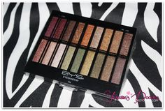 BYS Vertical Eyeshadow 18-Piece Eyeshadow Palette in Neutral Charm