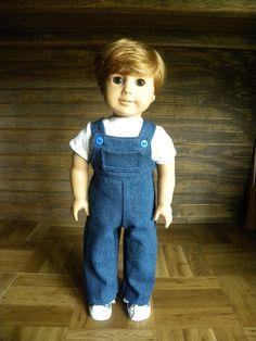 18 inch American Girl Boy Doll by DollClothesbyBella on Etsy