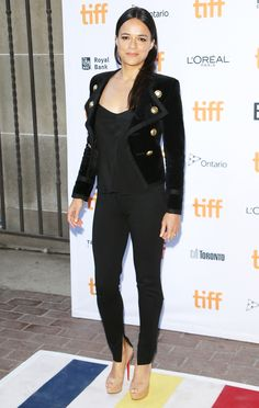 MICHELLE RODRIGUEZ Michelle Rodriguez, Dom And Letty, Hollywood Fashion, Hollywood Actresses, Toronto Film Festival, L'oréal Paris, Iconic Women, Celebs, Celebrities