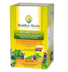 Buddha's Herbs Premium Heart Tea with 5 Heart Healthy Herbs, 22-Count Tea Bags. Product on Sale $11.89 - $21.05