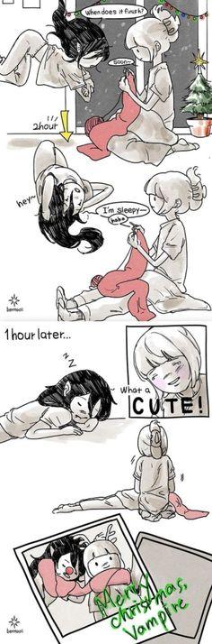 Cute Lesbian Couples, Lesbian Art, Adventure Time Marceline, Adventure Time Art, Yuri Anime, Anime Oc, Cute Love Photos, Adveture Time, Marceline And Princess Bubblegum