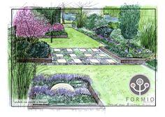 Projektowanie małego ogrodu, projekt małego ogrodu, mały ogród zdjęcia, FORMIO | Portfolio - MAŁE OGRODY